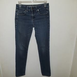 American Eagle Outfitters skinny jeans.